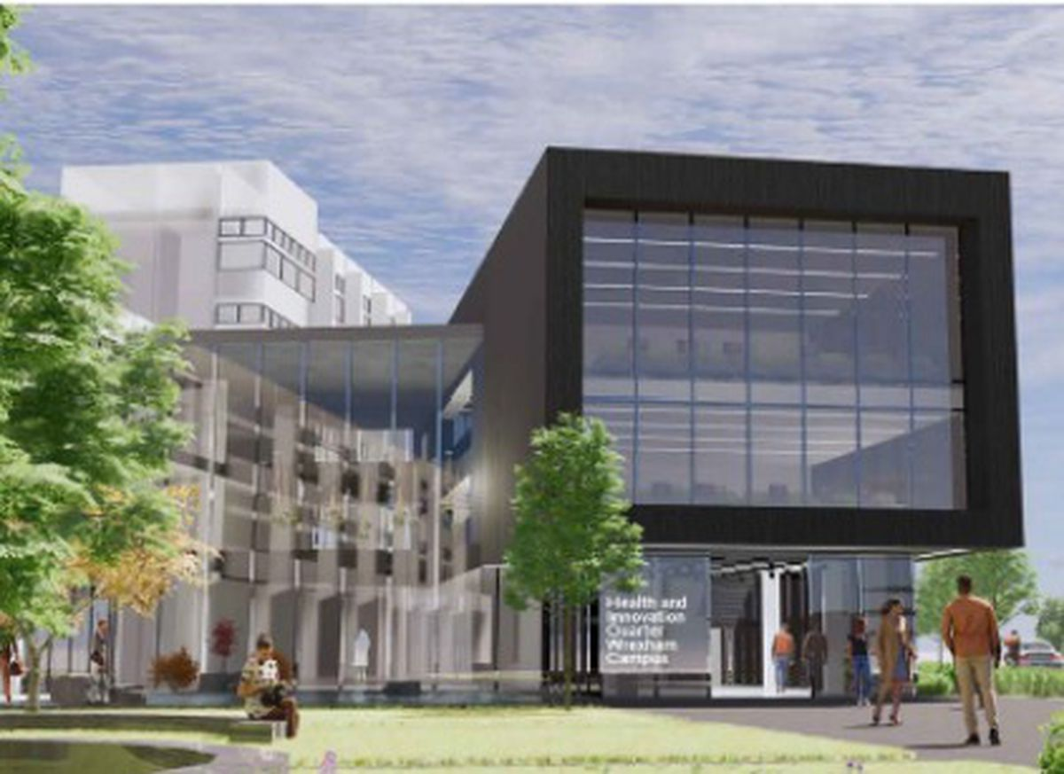 An impression of the planned new health quarter