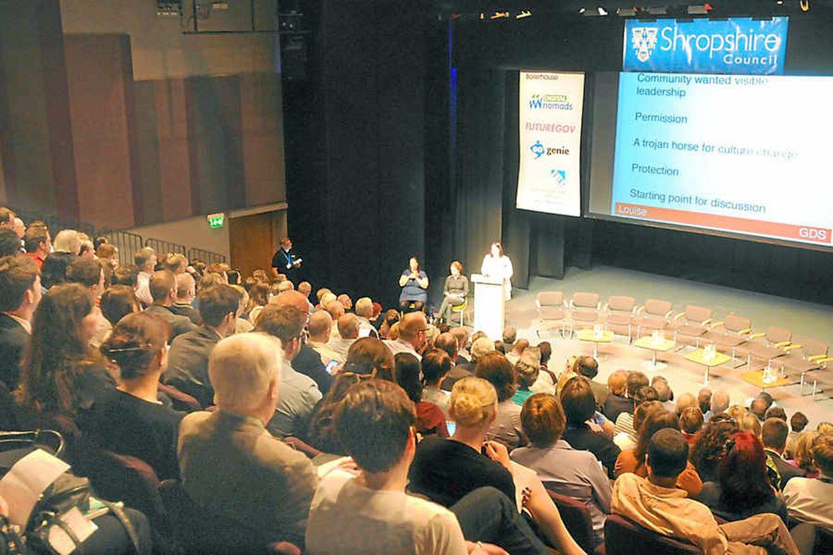 Delegates set trend at Digital Futures conference
