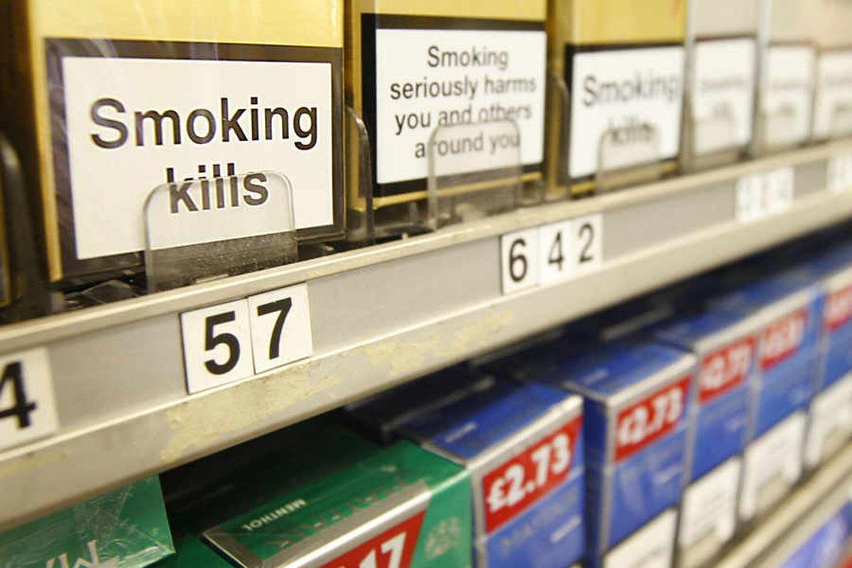 18,000 illegal cigarettes seized in Shropshire