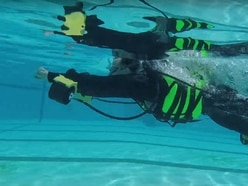 These guys made an underwater jet pack to let them glide like Iron Man
