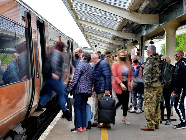 All change – Shrewsbury Station is currently served by diesel-run trains, which are slower and more polluting than electric