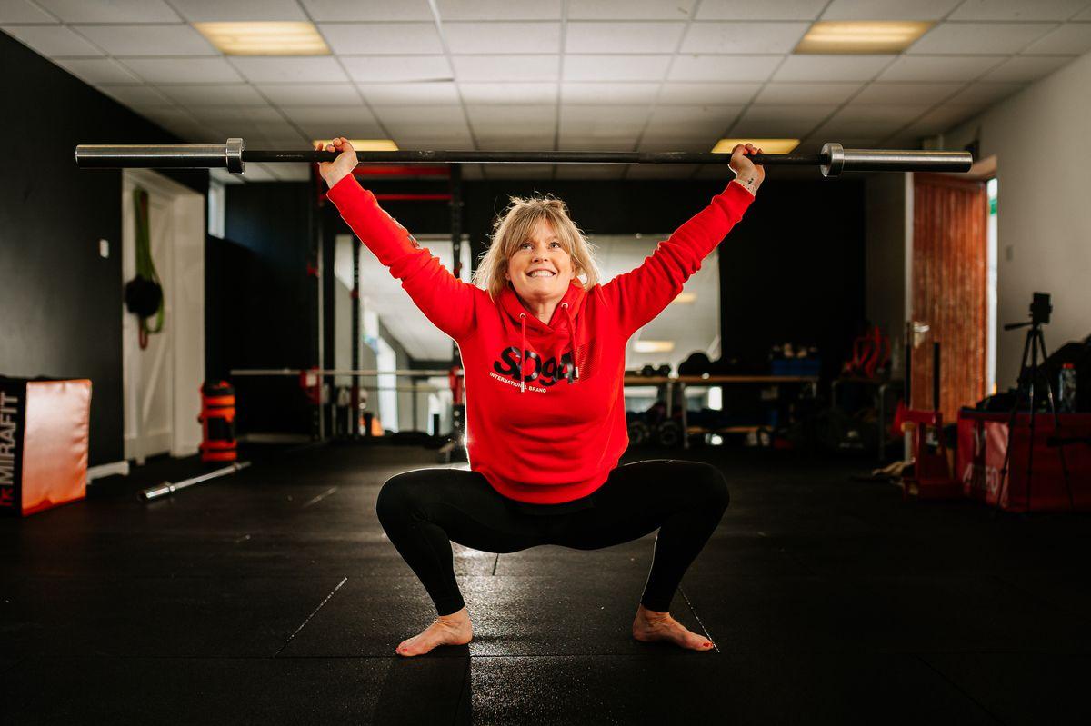 Liz Parkes put on the online fitness event