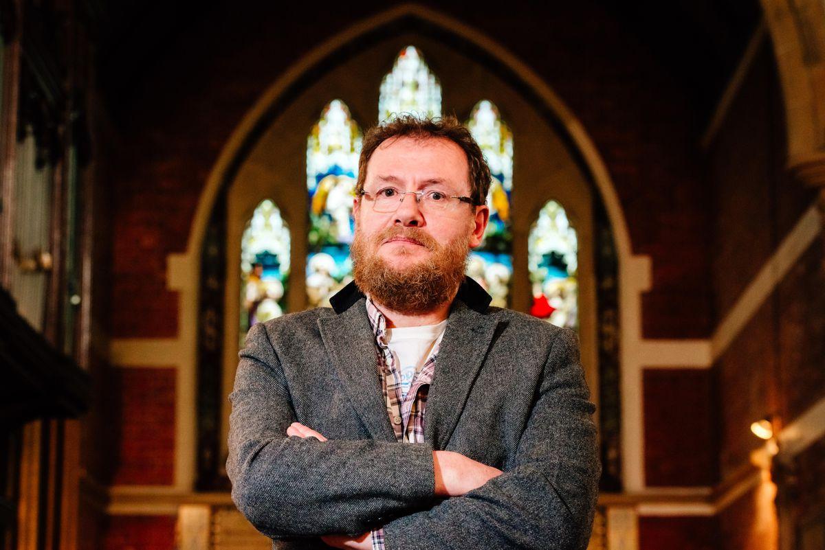 Chris Jones, who owns St Anne's Church in Lea Cross