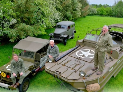 Shropshire military vehicle buffs to join D-Day parades - with video