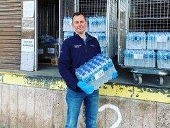 Company donates water to frontline NHS staff tackling Covid-19 crisis at RSH