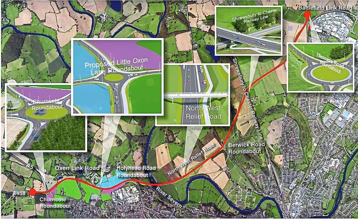 How the route of the North West Relief Road will take shape
