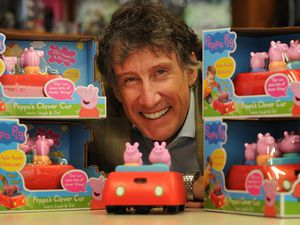 BUSINESS PIC  /  DAVID HAMILTON PIC / EXPRESS AND STAR 10/9/20 WITH VIDEO Founder and CEO Richard North, with the new Peppa Pig Clever Car, at Wow! Stuff, Wolverhampton..