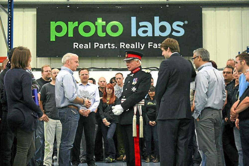 Expanding Telford Manufacturer Wins Enterprise Award