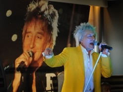 Top fan plays musical hero: What it's like to be a Rod Stewart impersonator