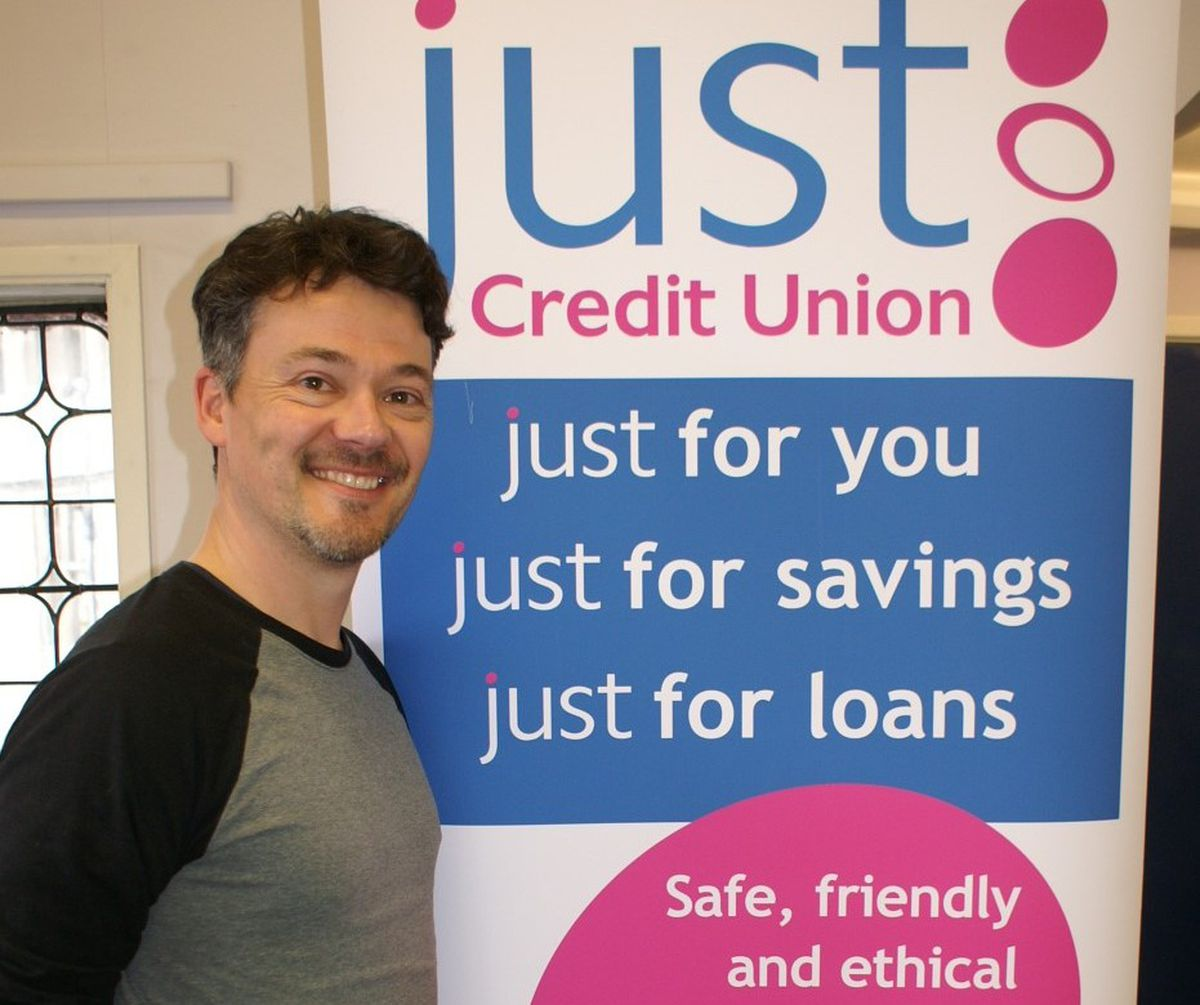 Mark Perez who says through teamwork and close working Just Credit Union finds itself in a strong and resilient position to face its next 20 years with confidence