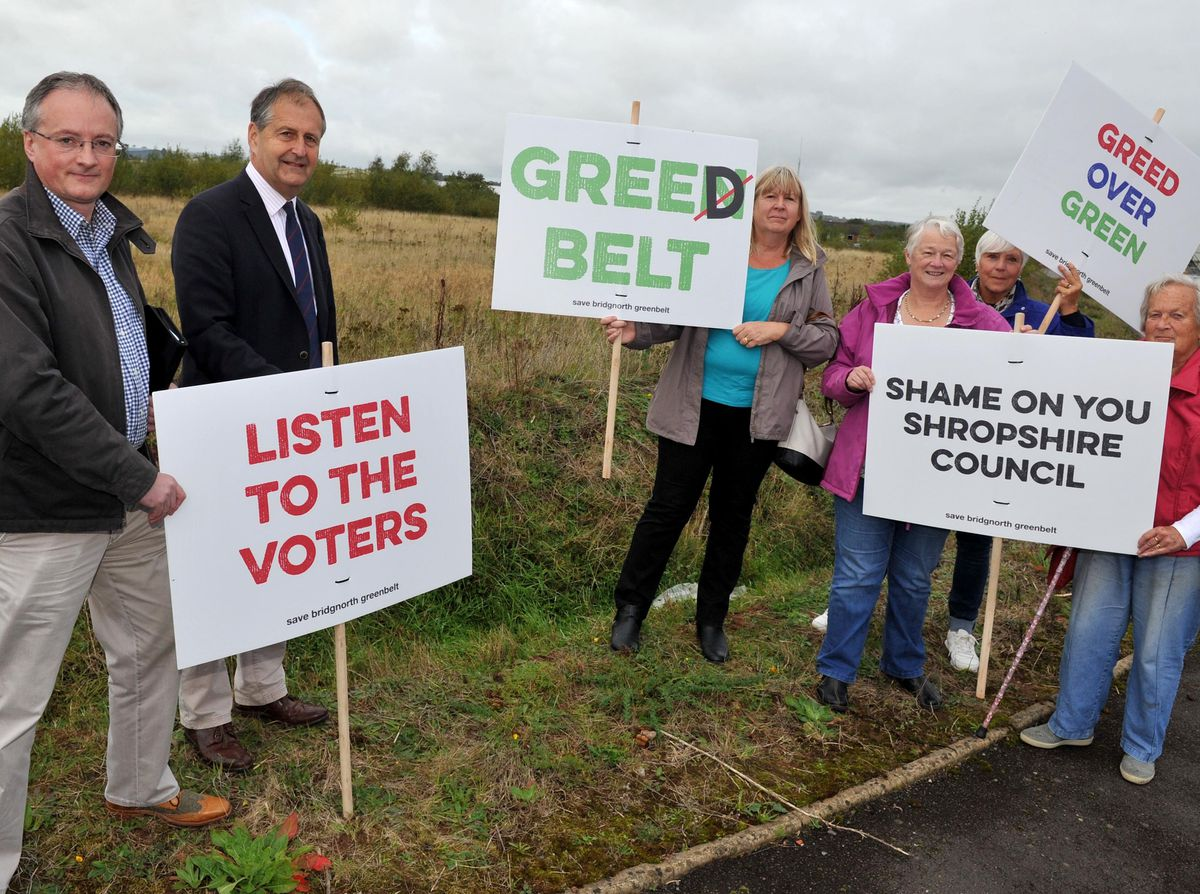 Campaigners against the plans