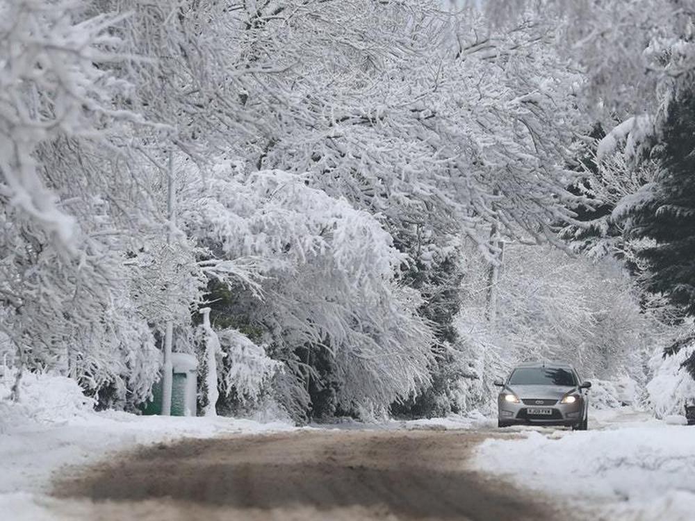 Warnings upgraded as heavy snow forecast