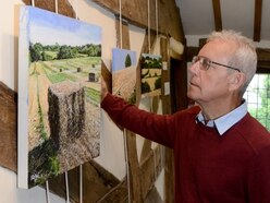 Andrew picks up his paintbrush again for Oswestry exhibition
