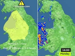 Weather warning issued as Shropshire and North Wales brace for thunderstorms