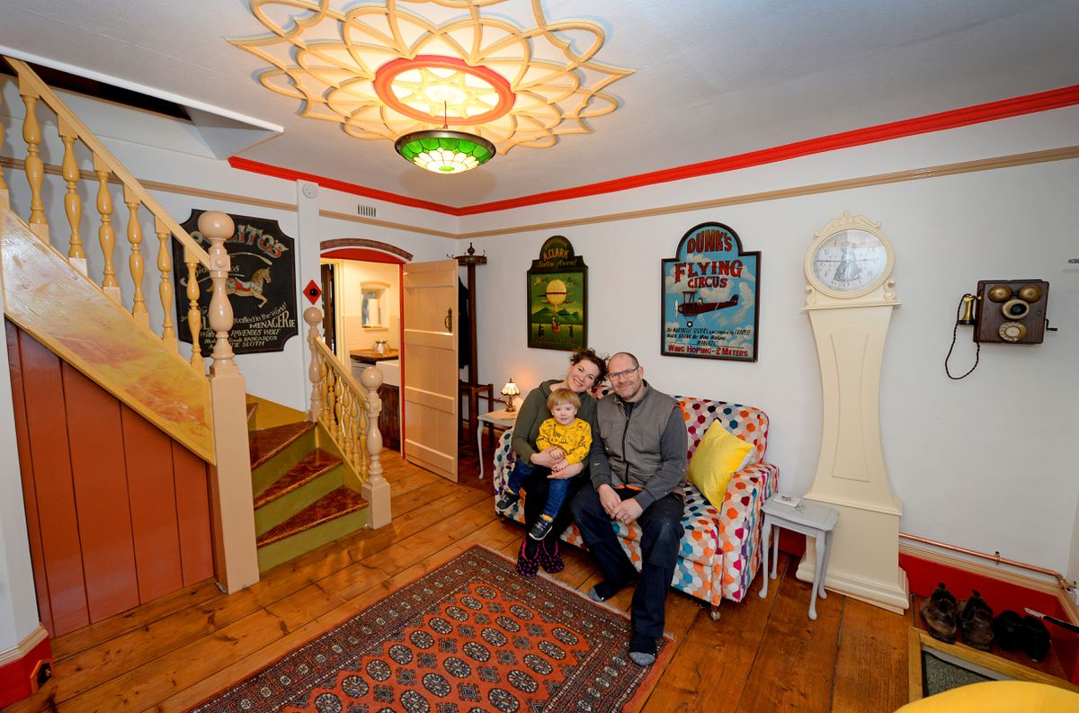 Karolina and Jason Harte bought the property in 2019