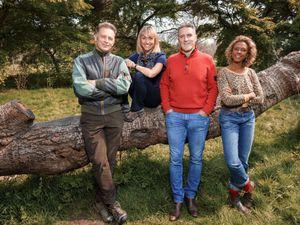 Pictured: Chris Packham, Michaela Strachan, Iolo Williams, Gillian Burke