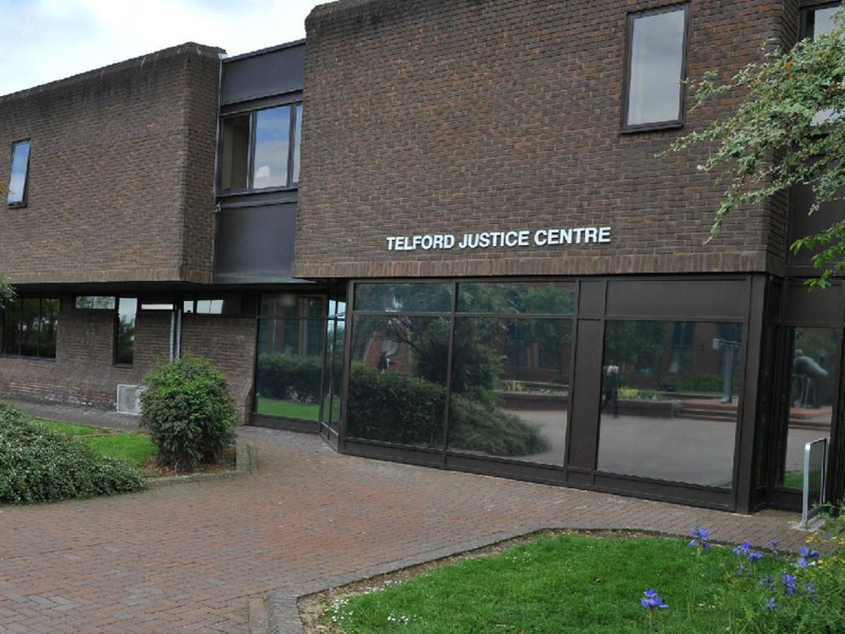 The case was heard at Telford Magistrates' Court