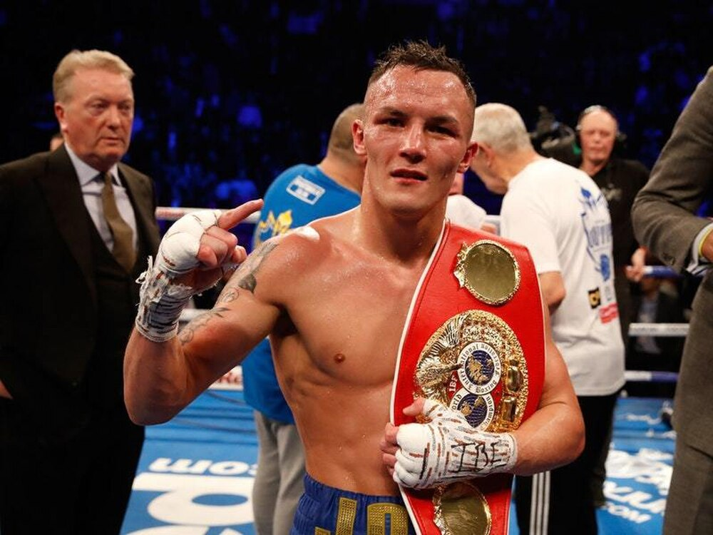 Josh Warrington shares images of post-fight facial damage after Frampton war