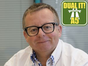 Dual the A5 campaign: Business boss and TNS owner Mike Harris backs Star petition
