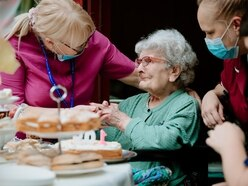 Special tea party for Gladys as she celebrates turning 109
