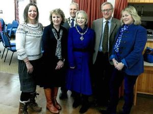 Donation helps Shropshire exercise class for the elderly