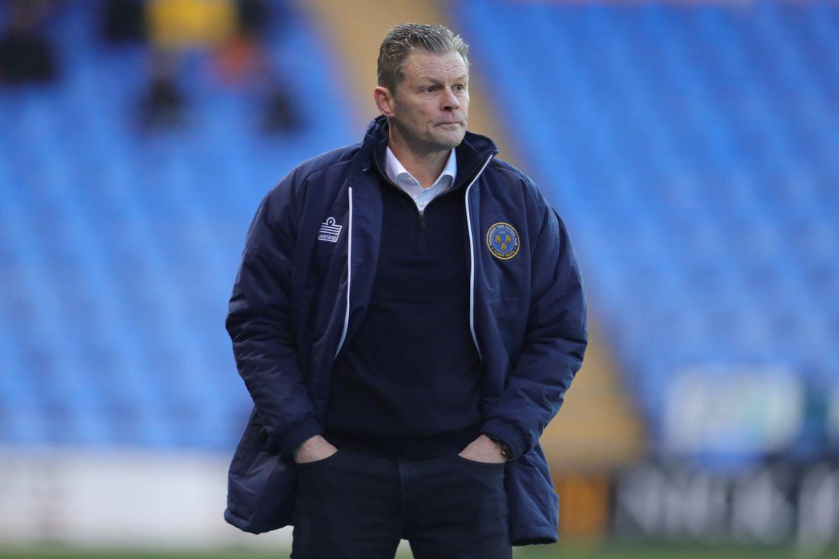 Shrewsbury Town boss Steve Cotterill