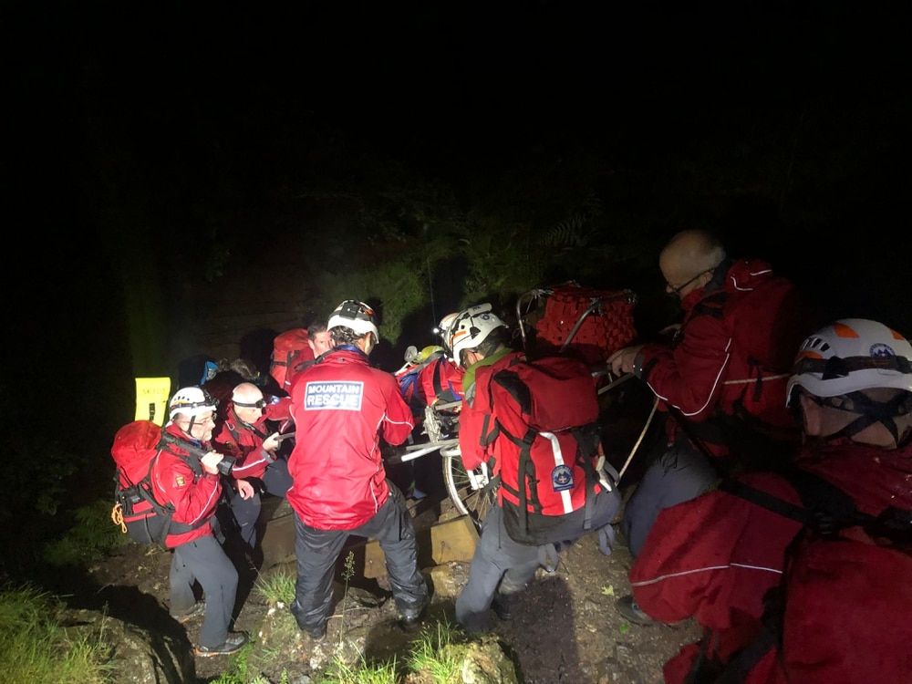 Mountain rescuers find man unconscious in tent | Shropshire Star