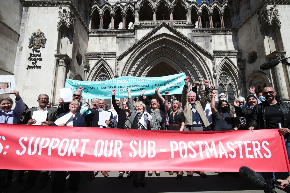 Dozens of former post office workers have had their convictions overturned by the Court of Appeal