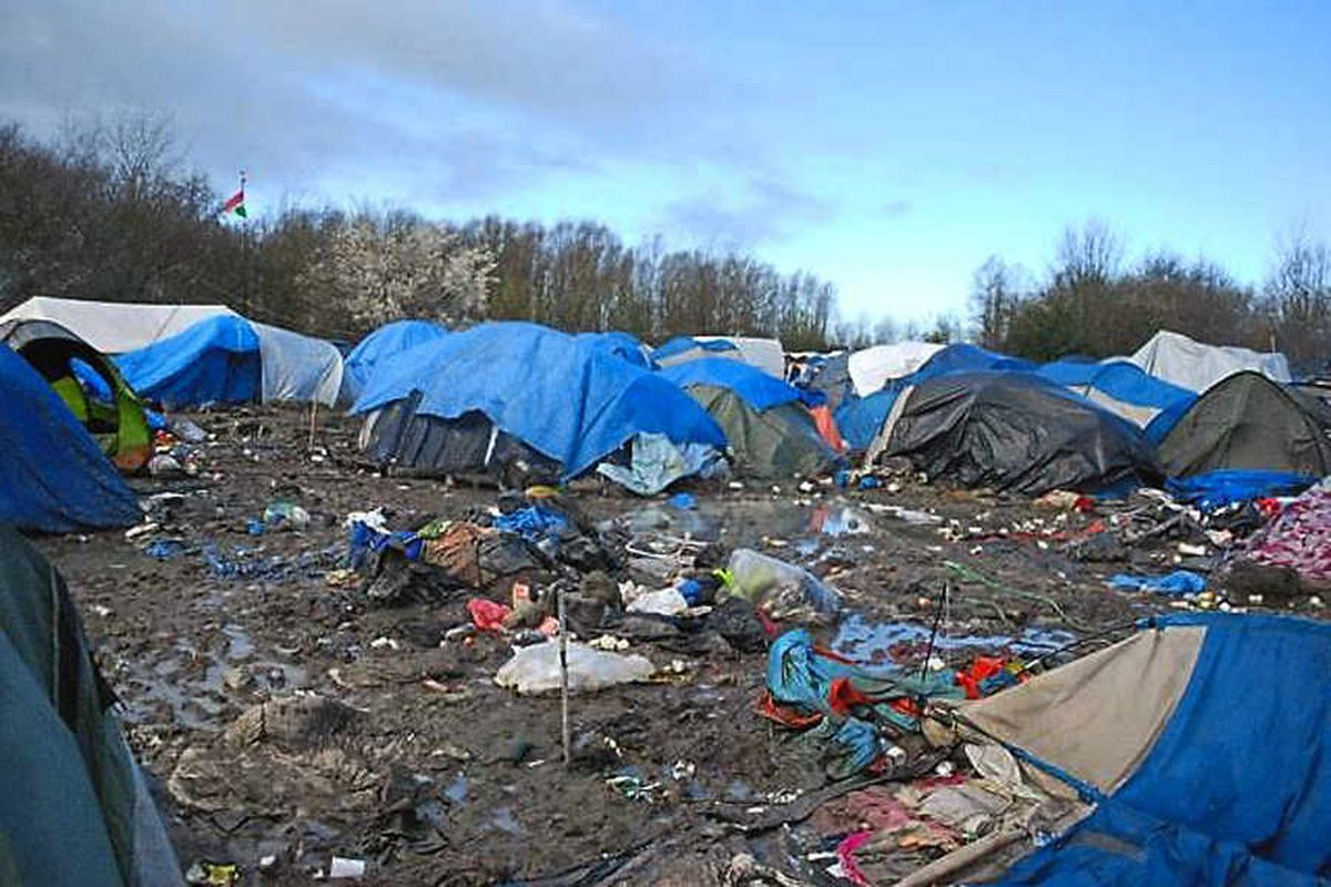 Just part of the squalor at the