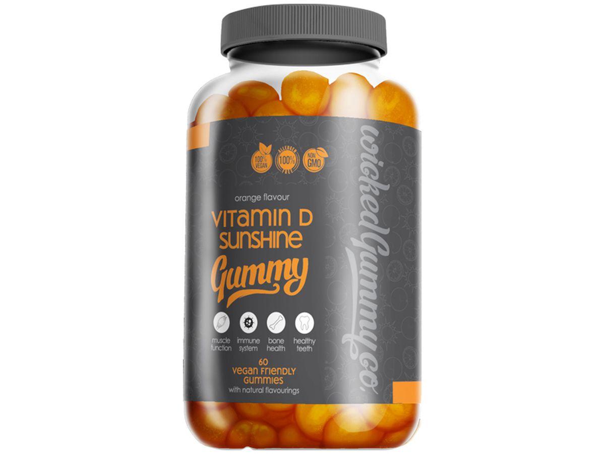 Wicked Gummy Co Vitamin D Sunshine Gummy