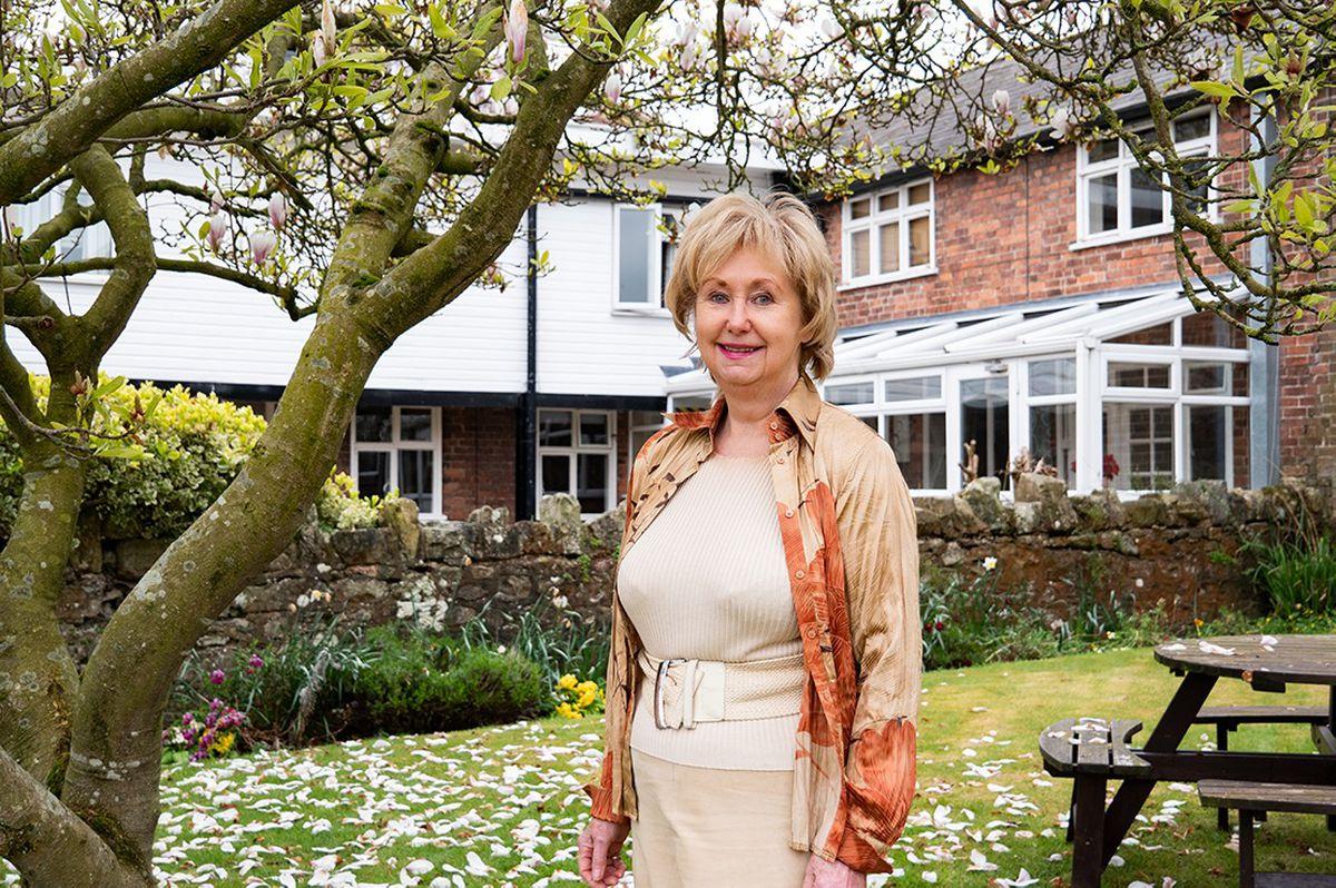 Sylvia Grace, of Moreton Hall, has won a lifetime achievement award