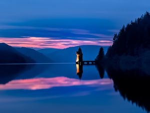 Lake Vyrnwy in Powys is Severn Trent's biggest reservoir – and it is also a beauty spot enjoyed by thousands of visitors every year
