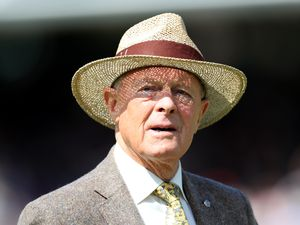 Geoffrey Boycott during day five of the Ashes Test match at Lord's, London..