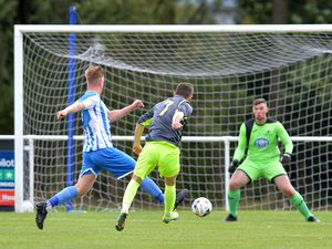 Reiss Corfield scores for Shawbury.