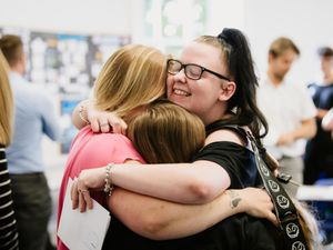 It's delight for many A-level students across Shropshire today