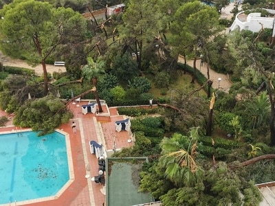 Holidaymakers left in the cold as 'tornado' brings destruction to Ibiza