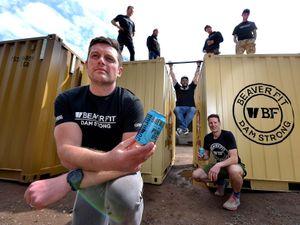 Beaverfit boss Tom Beaver, front, with Tom Butler, Bruce Duncan, Chris Pike, Gaz Morkot, Sam Wycherley and Fraser Rigby
