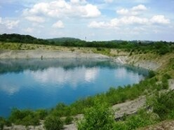 Police warning as seven men moved on from Shropshire quarry