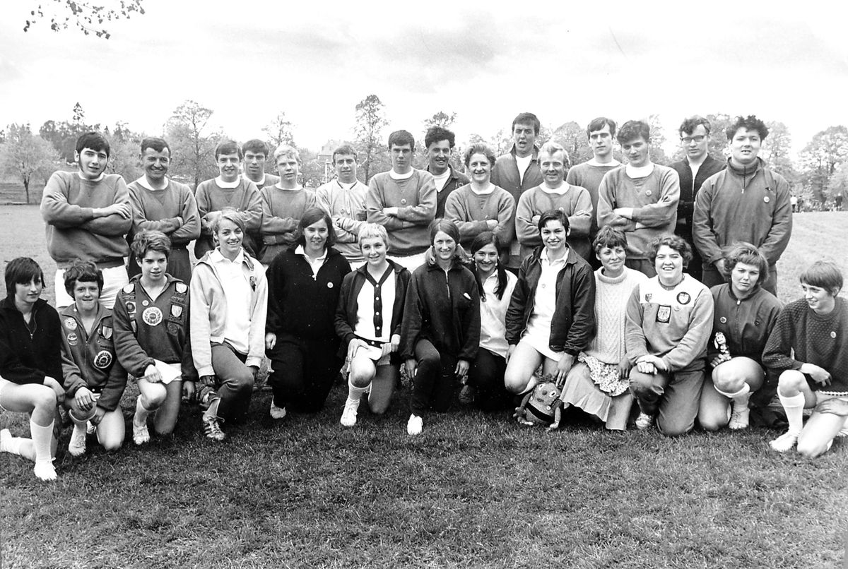 The Shrewsbury team which beat Chester at the Quarry in May 1969.