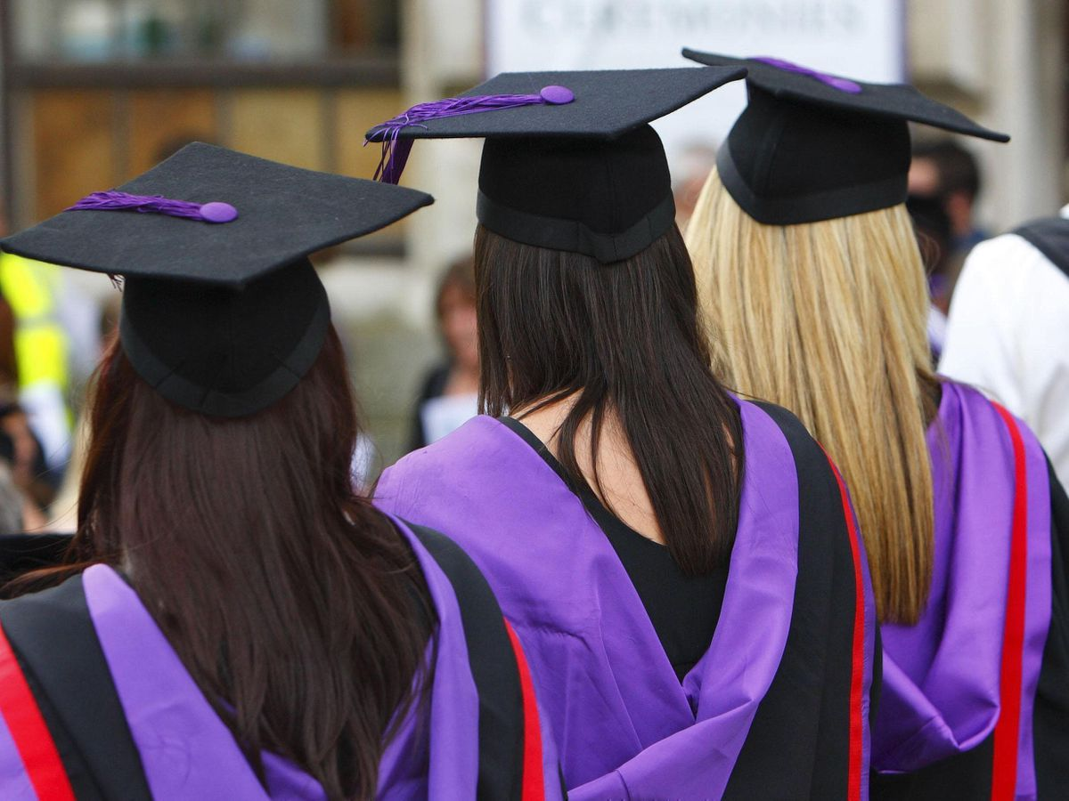 University graduates (Chris Ison/PA)