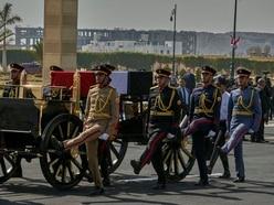 Egypt holds full-honours military funeral for former president Hosni Mubarak