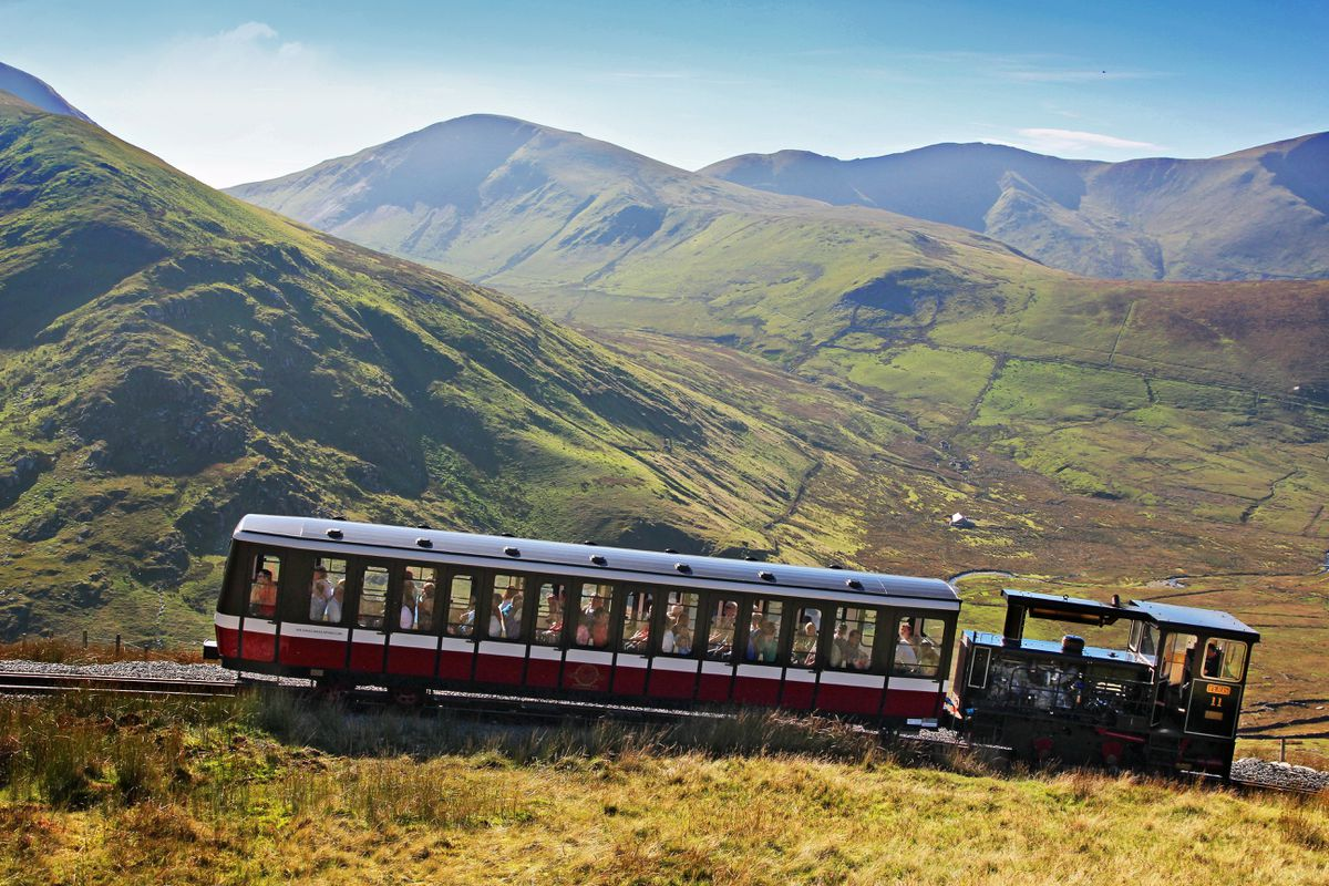 Snowdon Mountain Railway is not an option for the team
