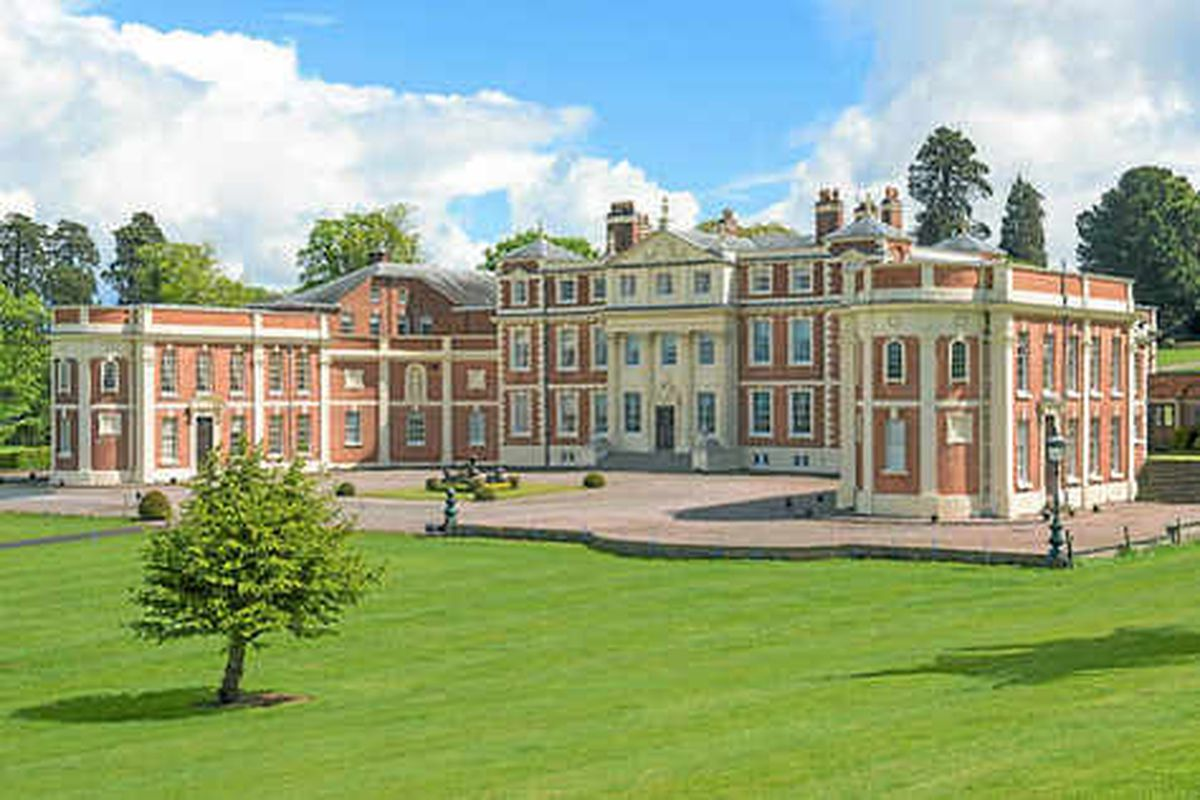 Hawkstone Hall goes up for sale with a £5m price