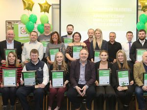 Cambrian Training Apprenticeship, Employment and Skills Awards 2020. Picture by Phil Blagg Photography.
