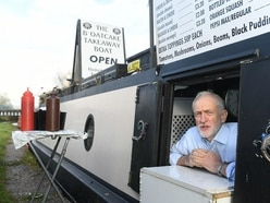 Jeremy Corbyn urges would-be voters to get registered on visit to Stoke-on-Trent