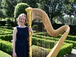 Alis becomes Prince Charles' official harpist