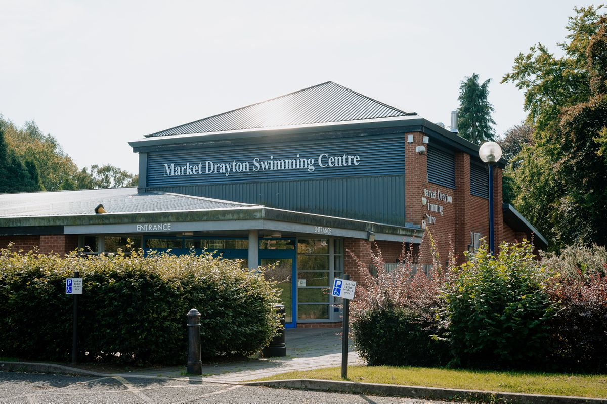 Market Drayton Swimming Centre will reopen in less than a fortnight