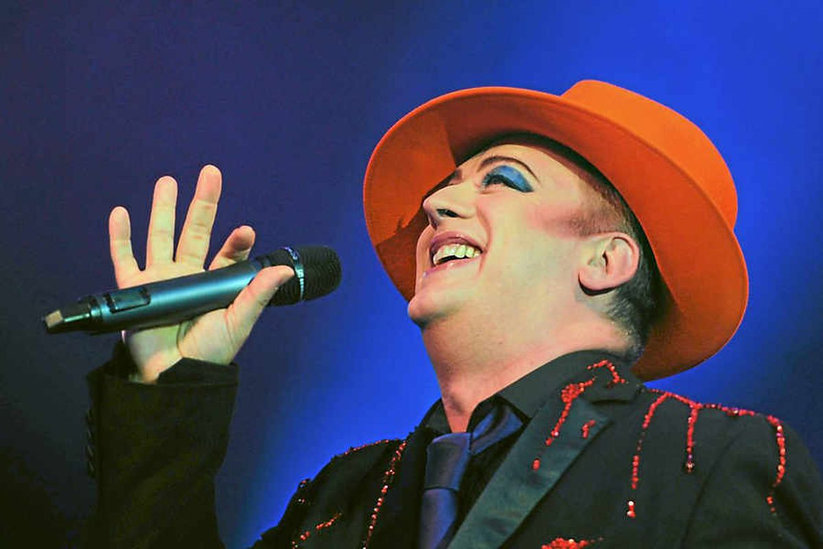 All about the boy –  performing at the Isle of Wight Festival in 2011