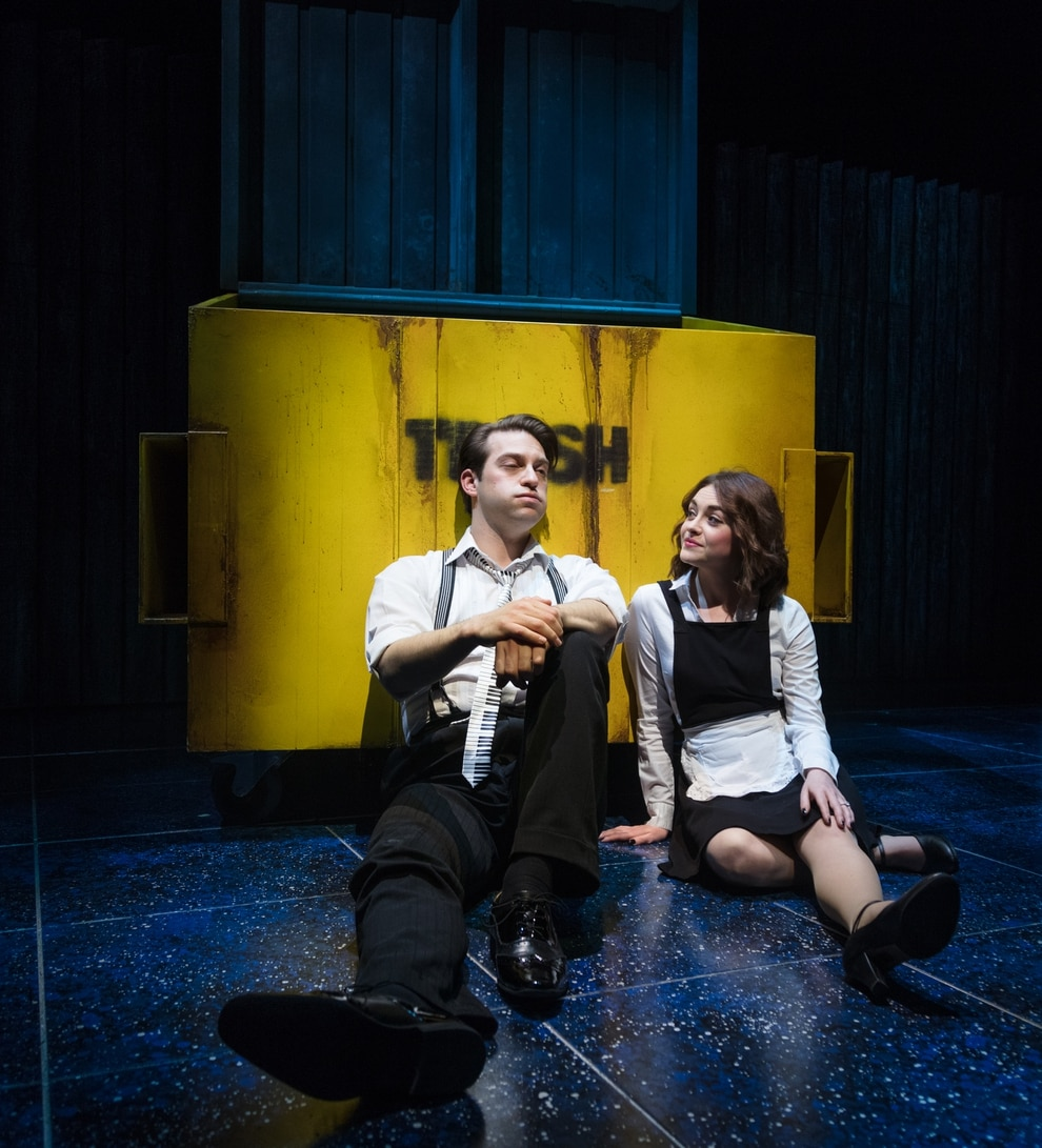 John Robyns As Robbie And Cie Compton Julia Picture By Darren Bell