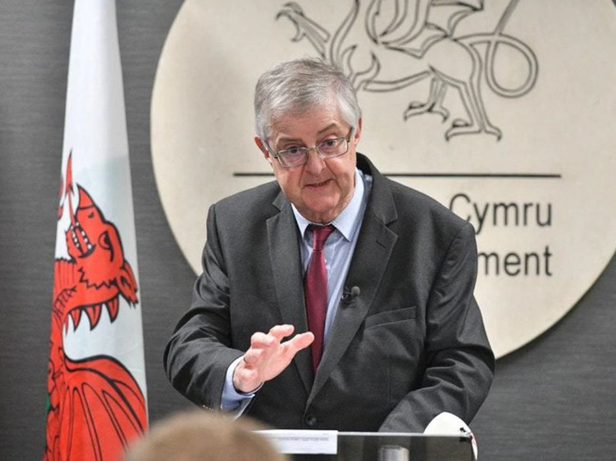 Wales' First Minister Mark Drakeford has said police will be carrying out patrols to enforce the rules.